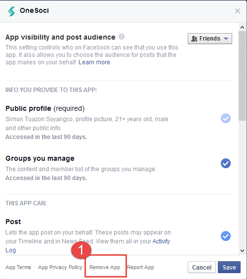 OneSoci and Facebook connectivity issues – LeadSeven